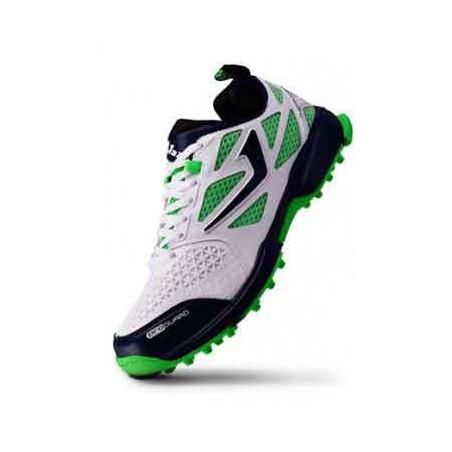 Jazba Cricket Rubber Spikes Shoes (men)