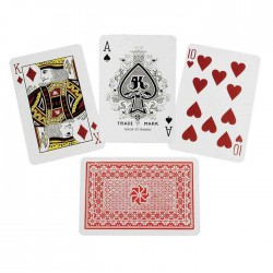24 Decks Plastic Playing Cards Royal Brand Washable