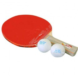 Double Fish Double Fish 3A Table Tennis Racket 1 Racket 2 Balls Set