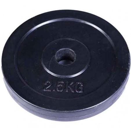 Dumbbell Plate 2.5 kg (Black)