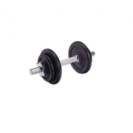 Set 10Kg 1 Dumbbell Discs Weight Barbell Gym Home Fitness Training Kit