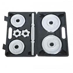 Dumbbell Set - 7.5KG (Silver)