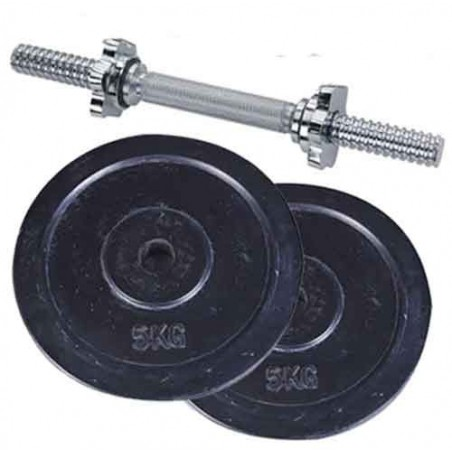 Dumbbell Set 10Kg (Black)