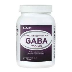 GNC GABA 750 MG