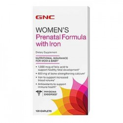 GNC Prenatal Formula with Iron