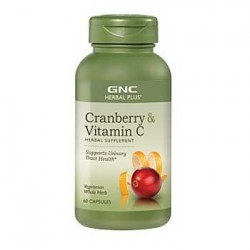 GNC Herbal Plus Cranberry & Vitamin C