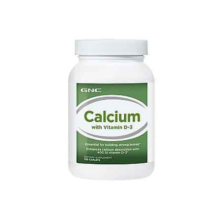 GNC Calcium with Vitamin D-3