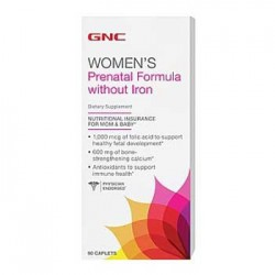 GNC Prenatal Formula Without Iron
