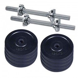 Double sticks Dumbbell set 10kg (black)