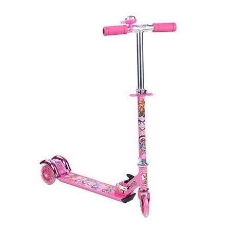 Three wheel folding scooter