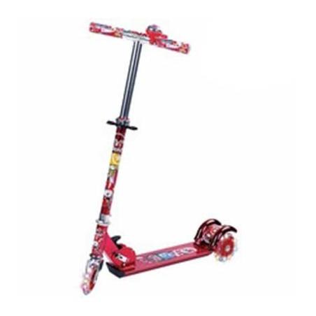 Three wheel children's scooter