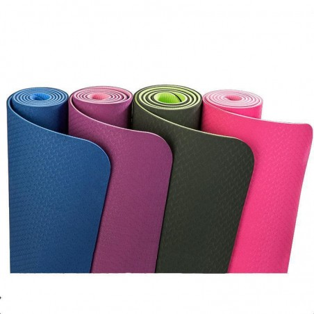 DOUBLE SIDED ECO-FRIENDLY YOGA MAT