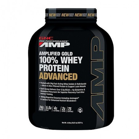 AMP GOLD 100% WHEY PROTEIN ADVANCED