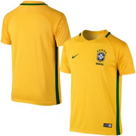 Brazil Nike Home Performance Stadium Jersey - Yellow/Green