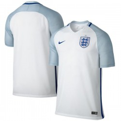 England Nike Home Stadium Performance Jersey - White/Light Blue