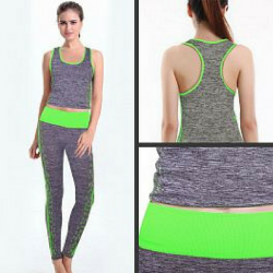Copper Fit Slimming Running & Yoga Fashion Wear Suit,