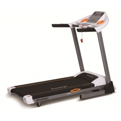 KONLEGA K642E Motorized Treadmill - Black and White