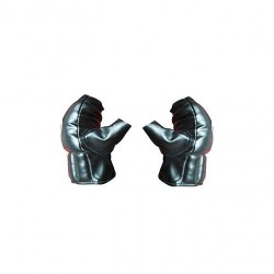 Boxing gloves Half Finger Black