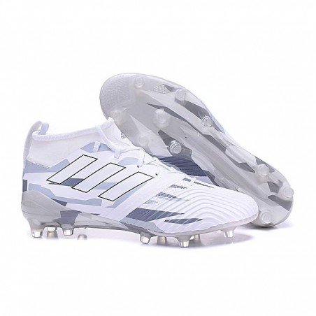 white PU Rubber Football Boot