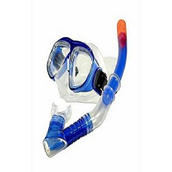 Snorkel with goggles