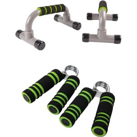 Push up Stands and Hand grips Combo