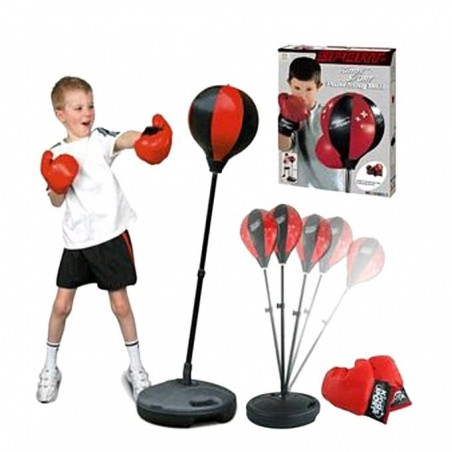 Gifts Boxing Training Set - Black and Red For Kids