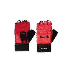 MMA Gloves - Red and Black