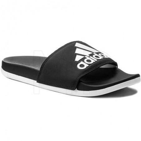 Adidas slide sandals black/white