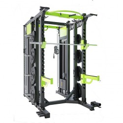 Cross-training Rack - Home Gym DHZ -E6222 - Black and Green