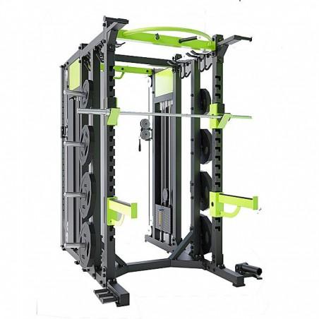 Cross-training Rack - Home Gym DHZ -E6222 - Black and Green