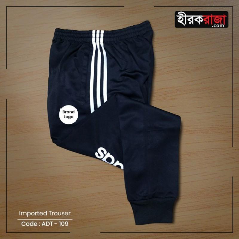 Adidas trio Cuffed trouser Black/White
