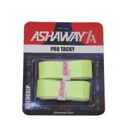 ASHAWAY Polyurethane Badminton Racket Grip - Lemon