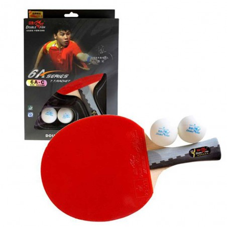 Double Fish Table Tennis Racket 6A-C