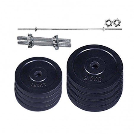 Adjustable Dumbbell & Barbell set 15kg