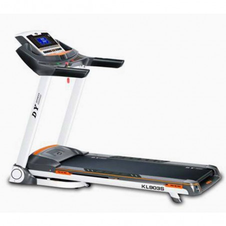 Foldable Motorized Treadmill KL-903S WHITE