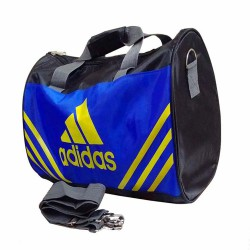 ONE POCKET Gym Bag 17 inch Black BLue