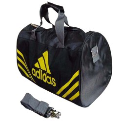 ONE POCKET Gym Bag 17 inch Black and Yellow