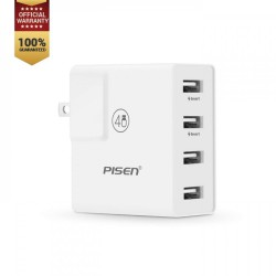 Pisen 4 USB Charger Socket