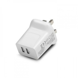 Pisen Dual USB Charger 2.4A UK Plug Smart Version