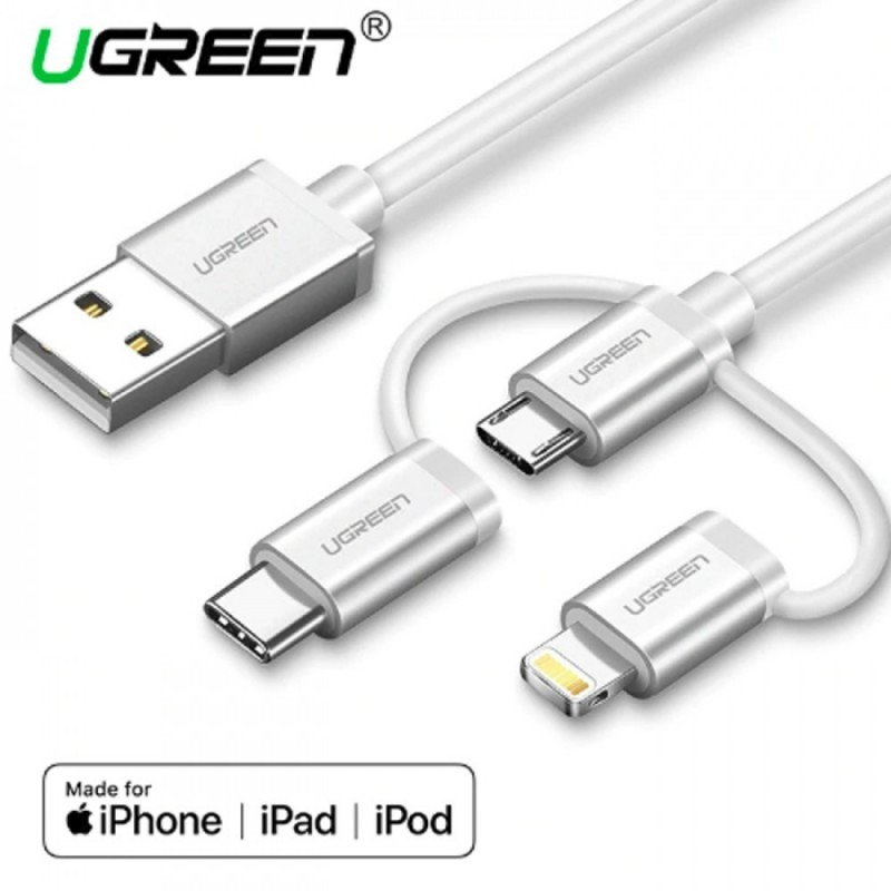 UGREEN USB 2.0 Type A to Mini USB Data Charging Cable 1 m