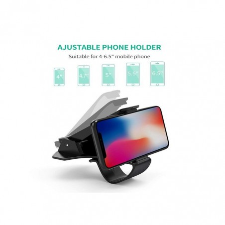 Ugreen Dashboard Black phone Holder