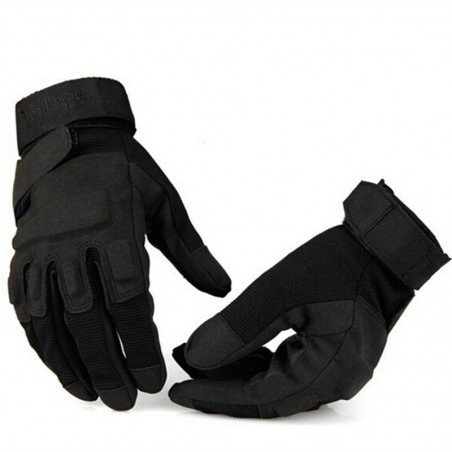 Tactical Gloves Military Full Fringe Combat Gloves/Black