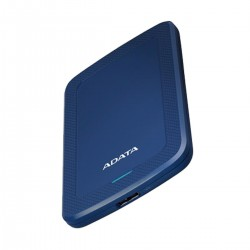 A Data HV300 2TB USB-3.1 Blue Slim External HDD
