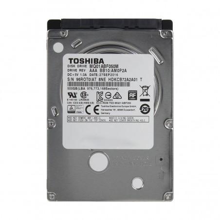 Toshiba 500GB 2.5 Inch SATA 5400RPM HDD