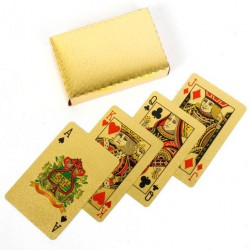 PLAYING CARDS (GOLDEN)