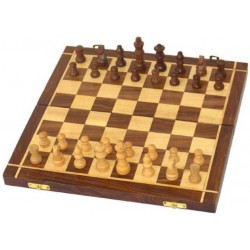 Magnetic Folding Chess Set - Wooden