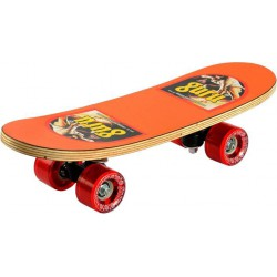 Mini Super Tenacity 17 inch x 5 inch Skateboard (Multicolor, Pack of 1)