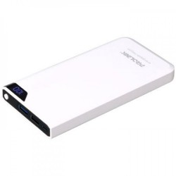 PROLiNK PPB1001 Energiepak Halcyon 10000mAh Power Bank - White