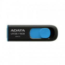 ADATA UV128 16GB Black-Blue USB-3.0 Pen Drive