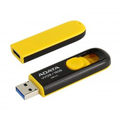 ADATA UV128 16GB Black-Yellow USB-3.0 Pen Drive